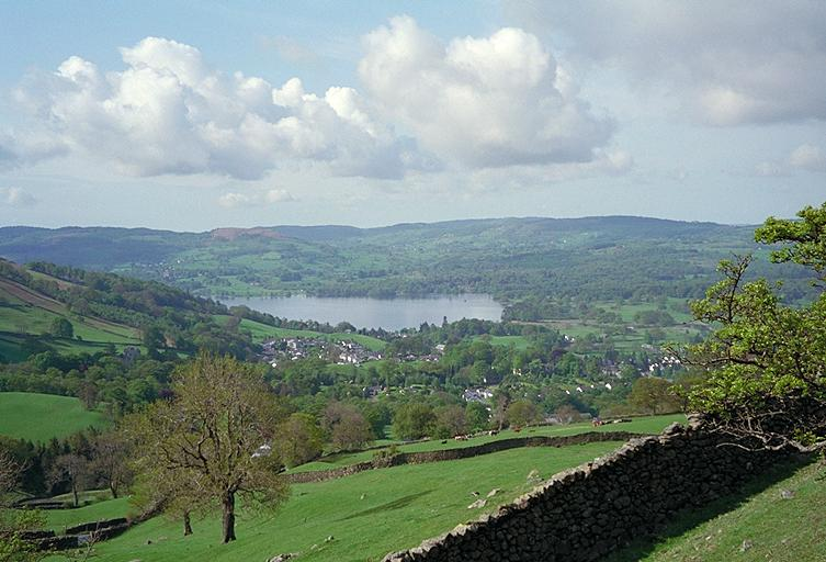 Ambleside and Lake Windermere