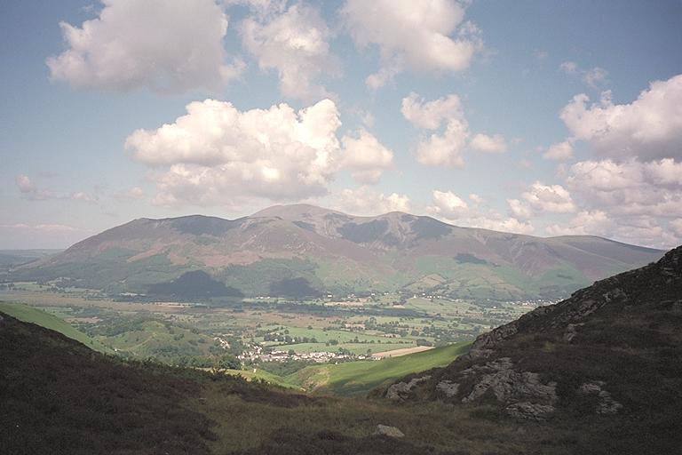 Skiddaw through Barrow Door