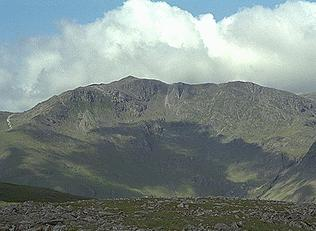 Bowfell from High Raise