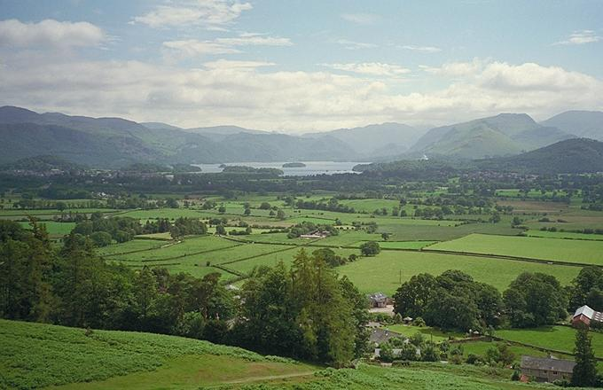 Derwentwater from the Carl Side Path