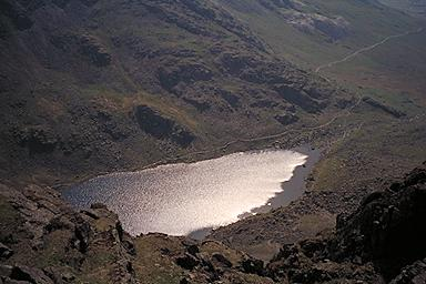 Goat's Water from Dow Crag
