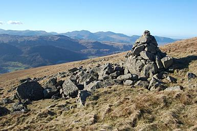 Solitary Cairn on Great Dodd