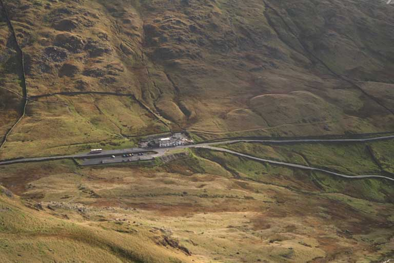 Kirkstone Pass from Red Screes