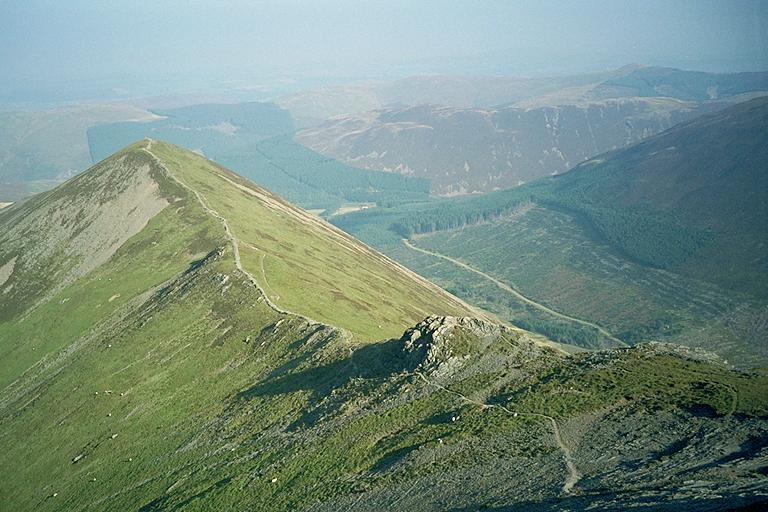 Ladyside Pike/Hopegill Ridge