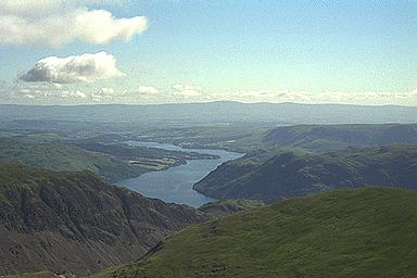The View Northeast from Catstye Cam