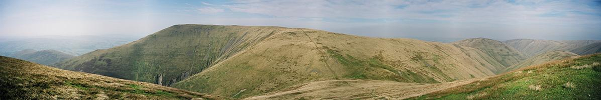 North from Bush Howe (Howgills)