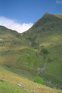 Rossett Gill from the Old Pony Route