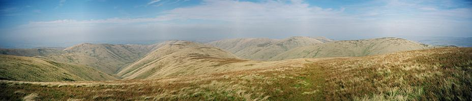 The Calf to Hazelgill Knott (Howgills)