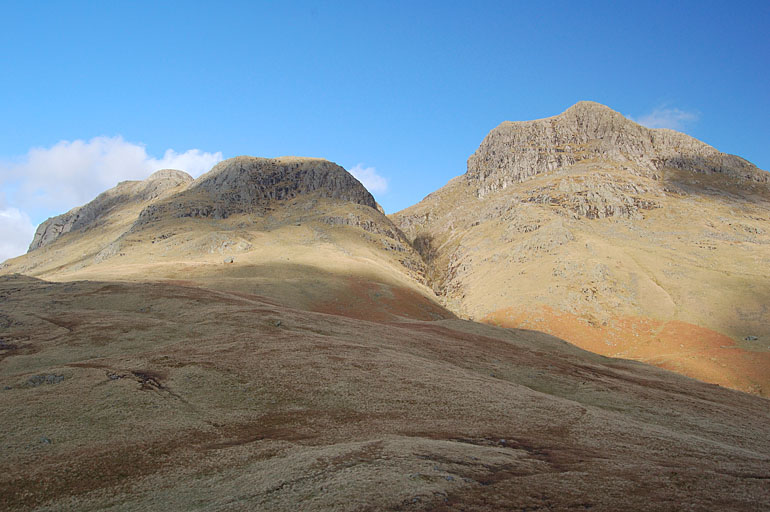 Thorn Crag and Harrison Stickle