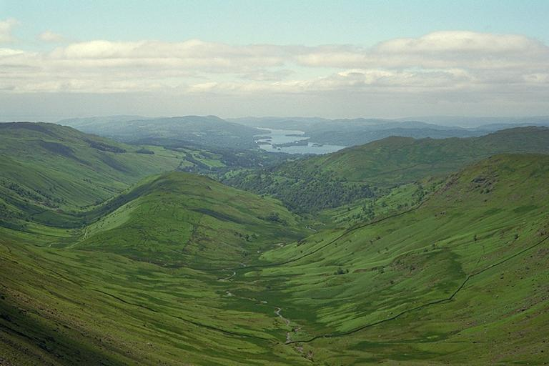 Troutbeck from Threshthwaite Mouth