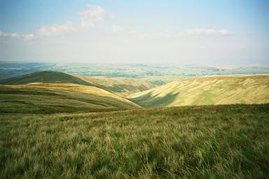 Uldale from Uldale Head (Howgills)