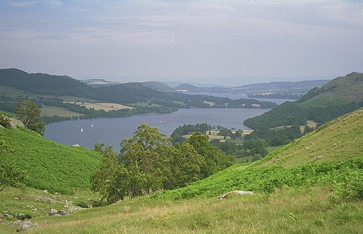 Ullswater from Scalehow Beck