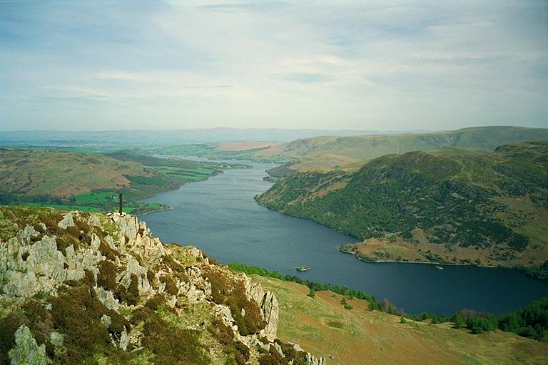 Ullswater from Sheffield Pike
